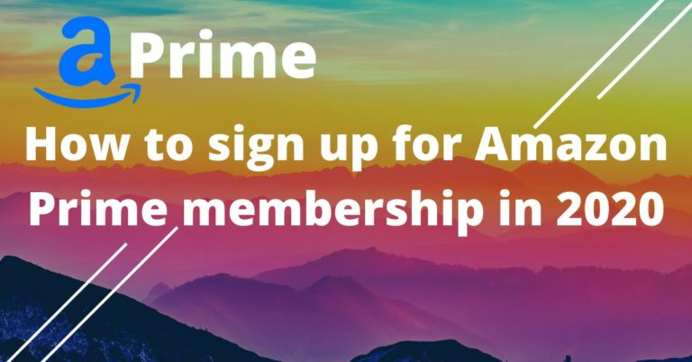 Benefits of Amazon Prime Membership in 2020