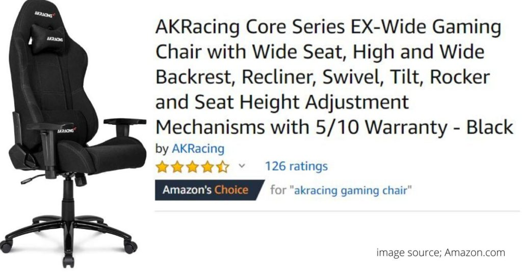 AKracing chairs